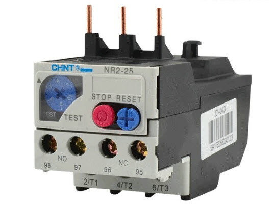 Thermal overload relay Current 1.6A-2.5A