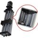 Linear Actuator THK90 - Ballscrew Slide Twin Round Shaft, 1.0meter