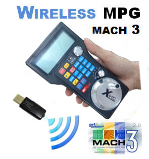 01. Wireless MPG Handwheel for Mach3 Controller