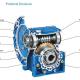 R-NMRV030 Gearbox 1:7.5, 10, 15, 20, 25, 30, 40, 50, 60,80, 100
