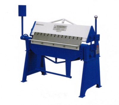 a Manual Folding Machine Length 1300mm,Thickness 1.5mm
