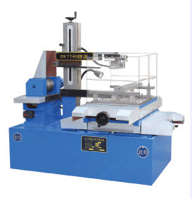 CNC Wire Cut DK7740,Machine and Computer
