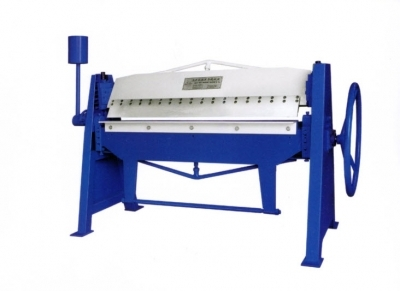 a Manual Folding Machine Length 1500mm,Thickness 1.5mm