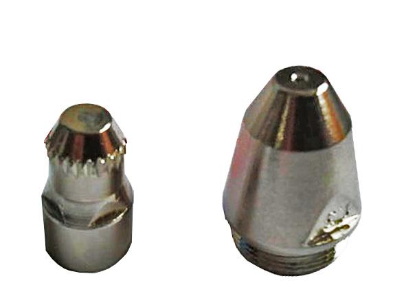 CNC Plasma Panasonic P80 Electrode Nozzle LGK-100 and Cut Mouth