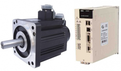 12 Servo Motor & Drive 2.0KW 7.7Nm 2500rpm 130support