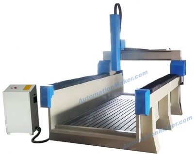 CNC Router Milling XJ1325-BGLWZX-800-Z800 GANTRIES 800mm, Spindle