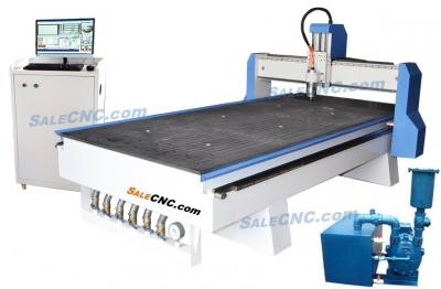 CNC Router Milling XJ1325-BGLV machine Hi-Win + Vacuum