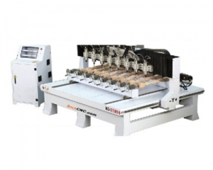 CNC Router Milling รุ่น ZX 8 Heads