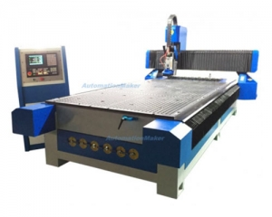 CNC Router Milling Z ขนาด 1300x2500 9KW Spindle, 8 Tool Changer