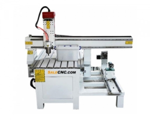 cnc router milling รุ่น axj6090-lxr & extended rotary