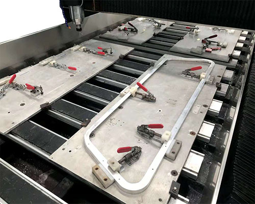CNC Router Aluminum